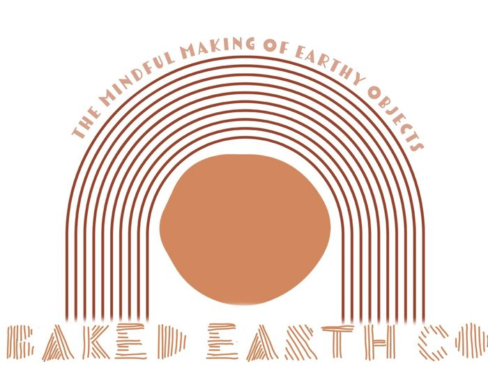 Baked Earth Co. Logo - the mindful making of earthy objects