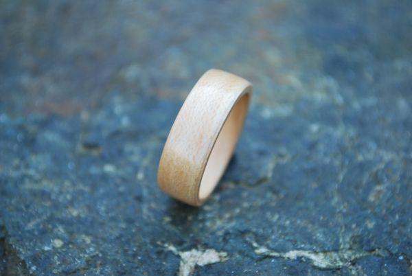 White Oak Bentwood Ring