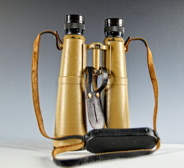 GERMAN WWII HENSOLDT (bmj) 1943-44 10x50 FIELD GLASSES**SOLD**