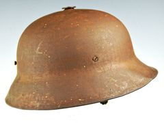 **REDUCED** ULTRA RARE AUSTRO-HUNGARIAN BERNDORFER COMBAT HELMET **SOLD**