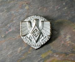 Hitler Youth Tinnie Commemorating 1937 Youth Festival **SOLD**