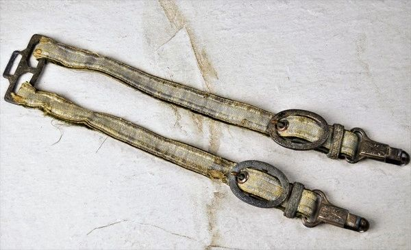 Well Worn WWII German Army Officers Dagger Hangers