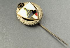 25 Year Long Kyfhäuser Veterans Association Membership Stick Pin
