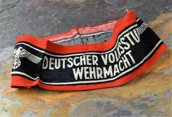 Deutcher Volkssturm Wehrmacht Armband **SOLD**