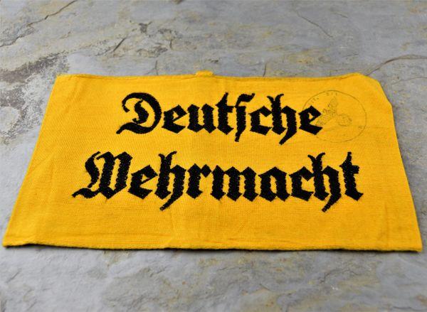 WWII Deutsche Wehrmacht Armband
