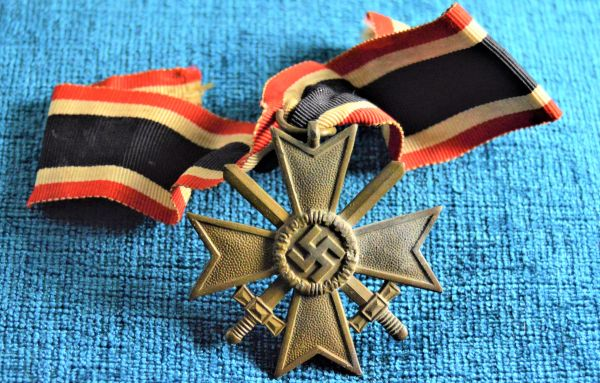 1939 War Merit Cross Second Class with Swords in Zinc