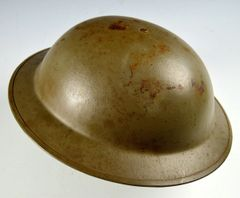 Post WWII Dutch mkII Helmet Produced By Verblifa