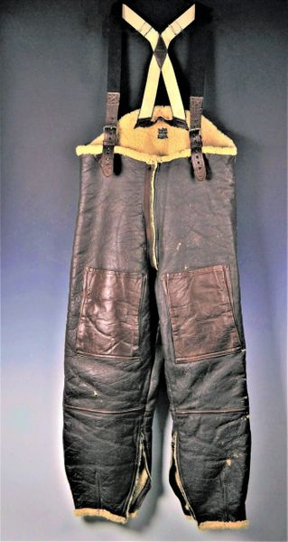 WWII Army Air Force TYPE B-1 Flight Crew pants by Western Lea. Clothing Co.