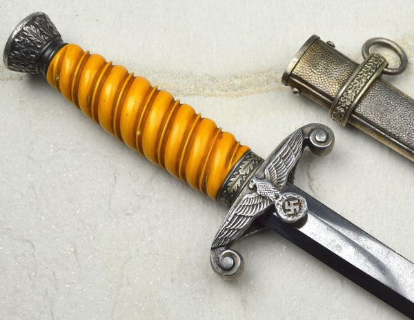 WWII German Army Dagger With Orange Grip Made By ALCOSO **SOLD**