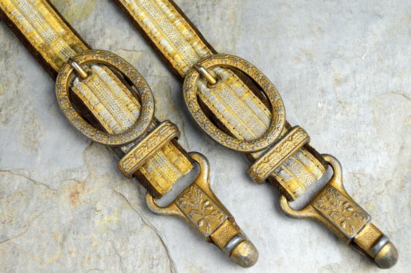 Beautiful WWII German Generals Dagger Hangers **SOLD**