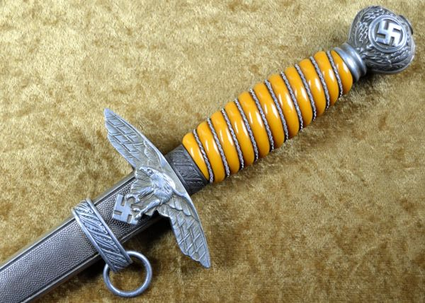 German WWII Second Pattern Luftwaffe Officers Dagger By SMF **SOLD**