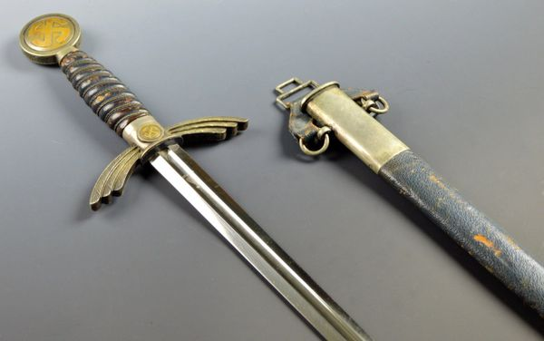 Early Luftwaffe Officers Sword By SMF (Solingen Metallwaren Fabrik) **(SOLD)**