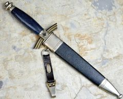Early SMF DLV/NSFK Glider Pilot's Dagger with Hanger **SOLD**