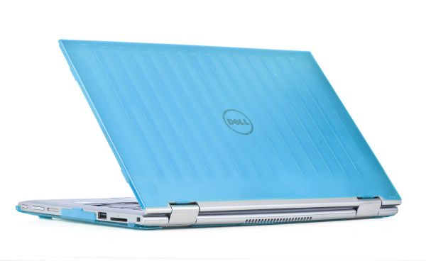 """mCover Hard Shell Case for 11.6"""" Dell Inspiron 11 3147 / 3148 2-in-1 Convertible Laptop (Aqua) (** NOT compatible with Dell Inspiron 11 model 3137 / 3138 touch screen **)"""