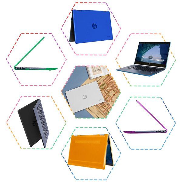 "mCover Hard Shell Case for 14"" HP Chromebook X360 14 G1 or HP Chromebook X360 14-DA0000 Series laptops"