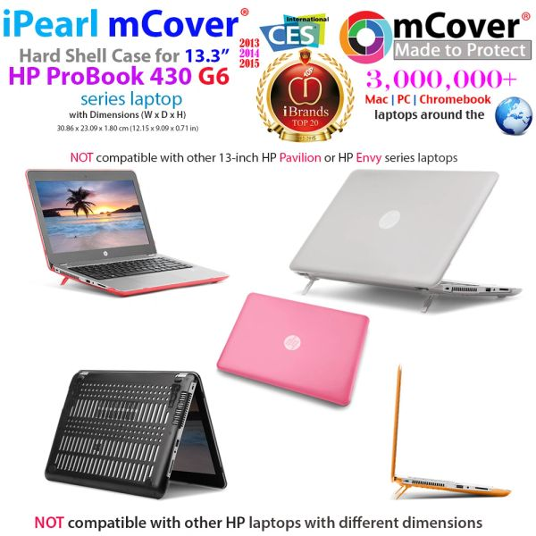 "mCover Hard Shell Case for 13.3"" HP ProBook 430 G4/G5/G6 Series Notebook PC"