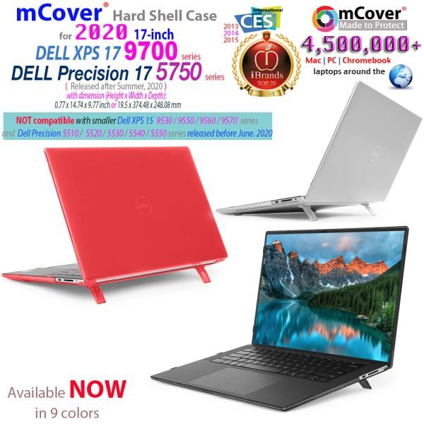 mCover Hard Shell CASE Compatible with17-inch Dell XPS 17 9700 or Dell Precision 5750 Series Laptop Computer