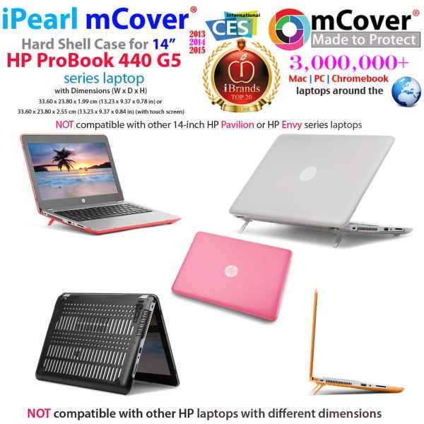 """mCover Hard Shell Case for 14"""" HP ProBook 440 Series ( G8/G5/G4 Series) Notebook PC"""