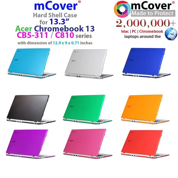 mCover Hard Shell Case for Acer CB5 13.3-inch Chromebook