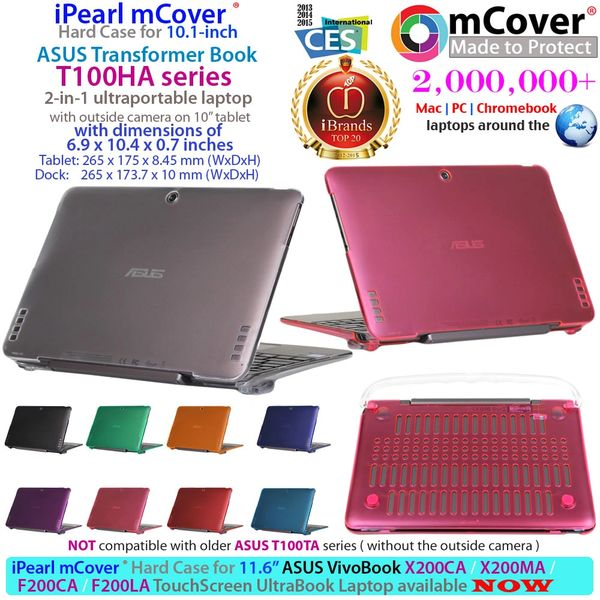 mCover Hard Shell Case for ASUS Transformer T100HA series ( Not for T100TA series)