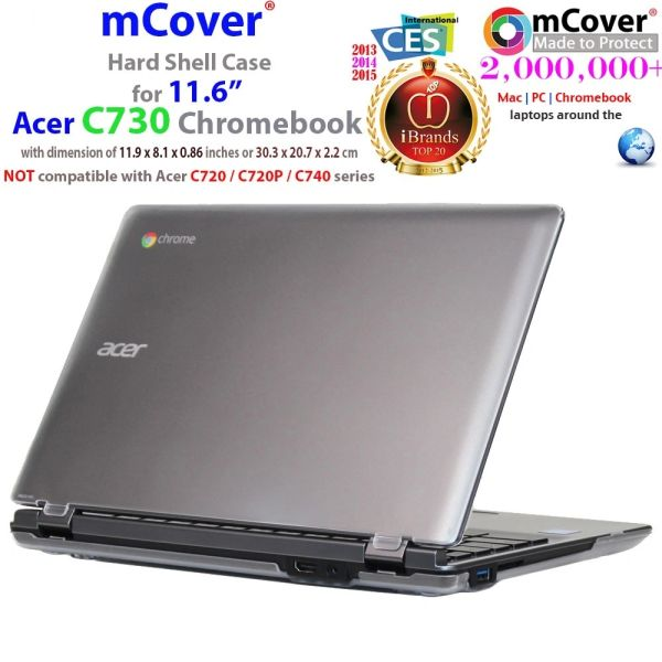 """mCover Hard Shell Case for 11.6"""" Acer C730 series ChromeBook Laptop"""