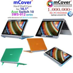 mCover Hard Shell Case for Acer Aspire Switch 10 SW5-012 10.1-inch series Convertible Tablet