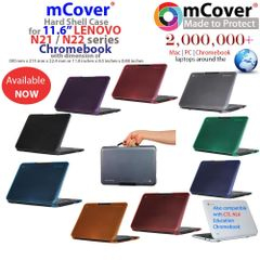 "mCover Hard Shell Case for 11.6"" Lenovo N21 / N22 CTL NL6 Chromebook (**Not compatible with Lenovo chromebook 11.6 N20p, N22 Winbook**)"