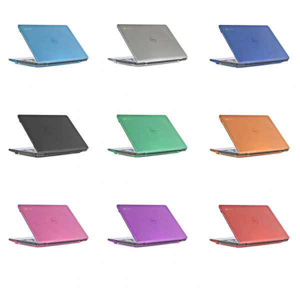 """mCover Hard Shell Case for 11.6"""" Dell Chromebook 11 3120 series Laptop released after Feb. 2015 with 180-degree LCD hinge (NOT compatible with 2014 original Dell Chromebook 11 210-ACDU series)"""