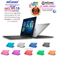 "mCover Hard Shell Case for 15.6"" Dell XPS 15 9570 / 9560 / 9550 / Precision 5530 / 5520 / 5510 series (released after Sept. 2015) Ultrabook laptop"