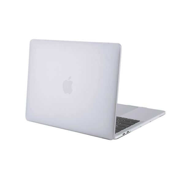 "mCoque Clear matte hard case for NEW 2016 15.4"" Apple MacBook Pro ( model no A1707, with Touch Bar ) with a FREE transparent keyboard skin (model:A1707)"
