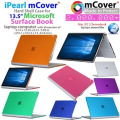 mCover Hard Shell Case for 13.5-inch Microsoft Surface Book Computer