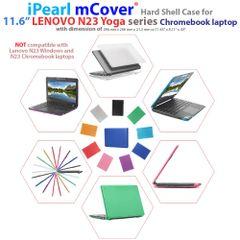 """mCover Hard Shell Case for 2017 11.6"""" Lenovo N23 Yoga series Chromebook Laptop (NOT fitting Lenovo N23 Chromebook / Windows laptop )"""