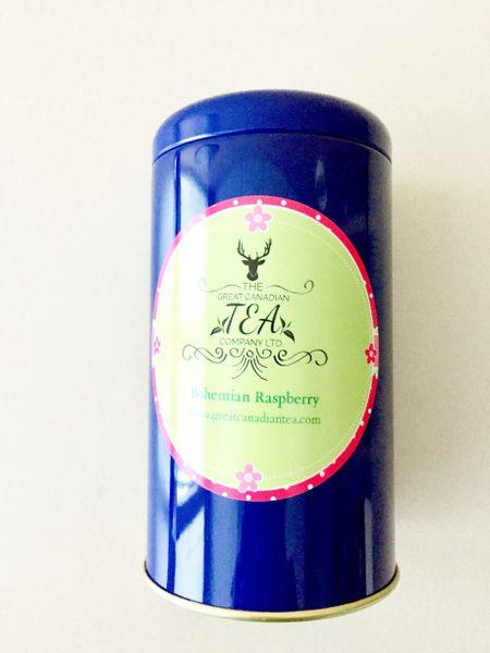 100 g Bohemian Raspberry Green Tea