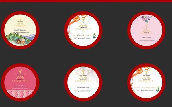 6 Select Premium Black Tea gift pack