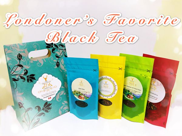 Londoner's Favorite Black Tea pack of 4