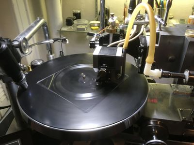 Lathe cut records