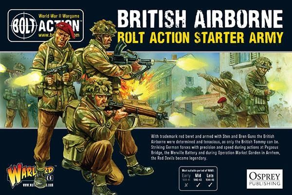 Warlord Games BOLT ACTION British Airbourne Starter Model Army