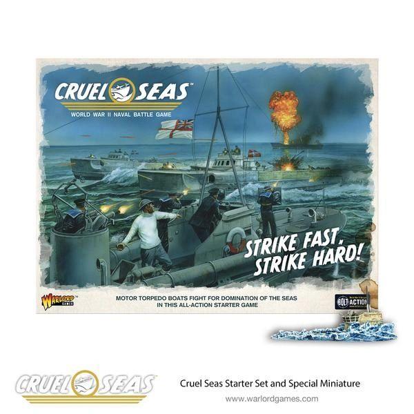 Warlord Games CRUEL SEAS Starter Box Game Set
