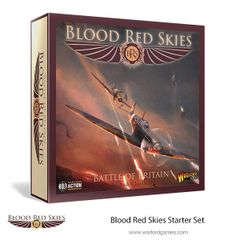 Warlord Games BLOOD RED SKIES Battle of Britain Starter Box Set