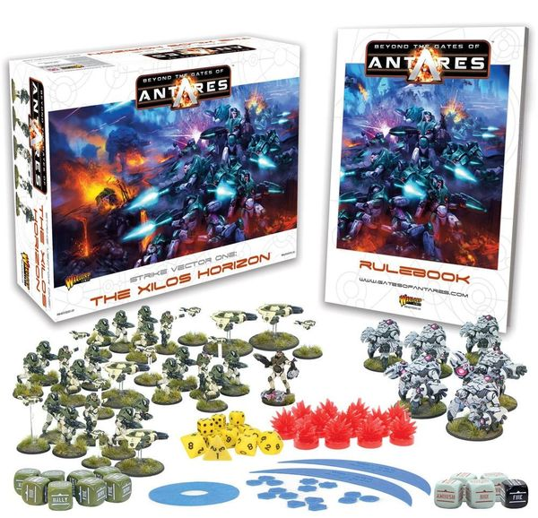 Warlord Games BEYOND THE GATES OF ANTARES Starter Box Set