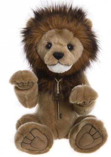 2019 Charlie Bears GOLIATH Lion (Queens Beasts Series) 41cm