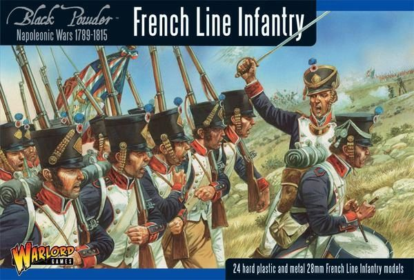 Warlord Games BLACK POWDER Napoleonic French Line Infantry