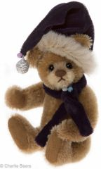 ALMOST GONE! HALF PRICE Charlie Bears Mini Mohair DANGLE Keyring 12cm (Limited to 1200 Worldwide)