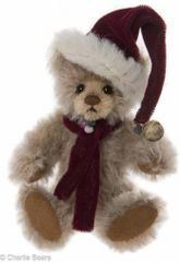 HALF PRICE! Charlie Bears Mini Mohair DINGLE Keyring 12cm (Limited to 1200 Worldwide)