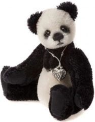 HALF PRICE! Charlie Bears Mini Mohair BOOTS Panda Keyring (Limited to 1200) Worldwide)