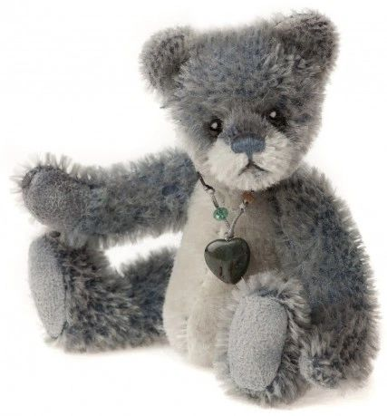 HALF PRICE! Charlie Bears Mini Mohair Keyring ICESKATE 13cm (Limited to 1200 Worldwide)