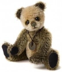 HALF PRICE! Charlie Bears Mini Mohair WELLY Keyring 13cm (LImited to 1200 Worldwide)
