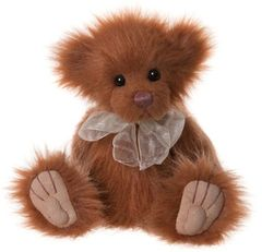 NEW 2019 Charlie Bears BUTTERSCOTCH 20cm