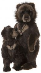 NEW! 2019 Charlie Bears BIG RON and LITTLE RON (62 & 41cm)