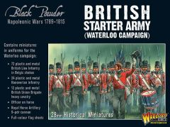 Warlord Games BLACK POWDER Napoleonic British starter army (Waterloo campaign)